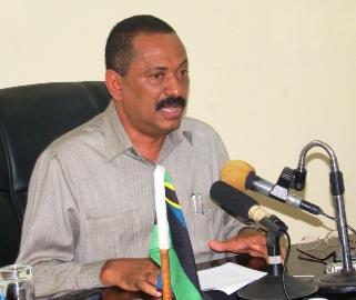 Waziri wa Nchi Ofisi ya Makamo wa Pili wa Rais wa Zanzibar, Mohammed Aboud Mohammed akizungumzia suala la Muungano na kutatuliwa kwake