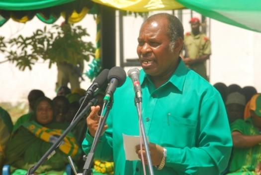 Naibu Katibu Mkuu wa CCM Zanzibar, Vuai Ali Vuai