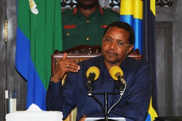 Rais wa Jamhuri ya Muungano wa Tanzania Jakaya Mrisho Kikwete