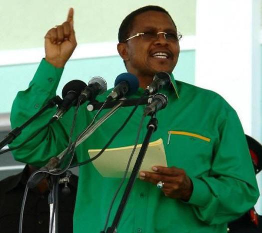 Rais wa Tanzania na Mwenyekiti wa CCM, Jakaya Mrisho Kikwete