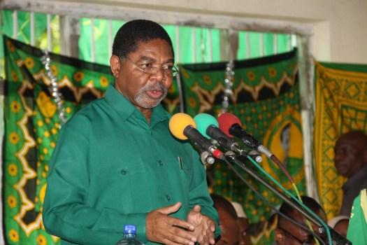 Rais wa Zanzibar na Mwenyekiti wa Baraza la Mapinduzi, Dkt Ali Mohamed Shein