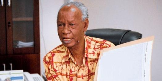aliyekuwa Mwenyekiti wa Tume ya Mabadiliko ya Katiba, Jaji Joseph Warioba