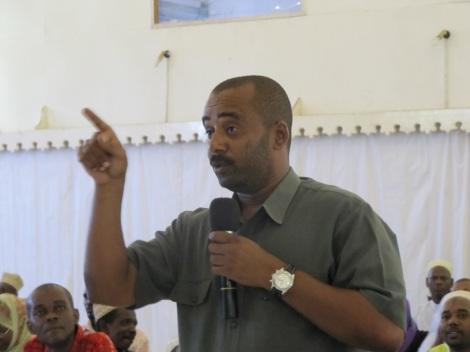 Mansoor Yussuf Himid ambaye ni Mshauri wa Katibu Mkuu wa Chama Cha Wananchi (CUF) Maalim Seif Hamad