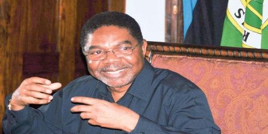 Rais wa Zanzibar, Dk Ali Mohammed Shein