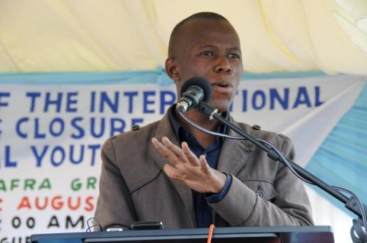 Aliyekuwa Kamishna wa Tume ya Mabadiliko ya Katiba, Humphrey Polepole
