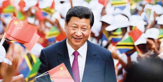 Rais wa China Xi Jinping. akiwa ziarani Tanzania