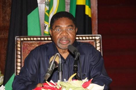Rais wa Zanzibar na Mwenyekiti wa Baraza la Mapinduzi, Dkt. Ali Mohammed Shein