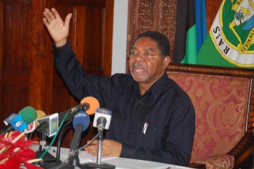 Rais wa Zanzibar anayeongoza serikali ya Umoja wa Kitaifa, Ali Mohammed Shein