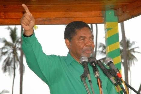 Dk Ali Mohammed Shein Makamo Mwenyekiti wa CCM na Rais wa Zanzibar