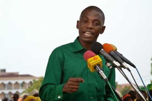 Naibu Katibu Mkuu wa Umoja wa Vijana Zanzibar, Shaka Hamdu Shaka