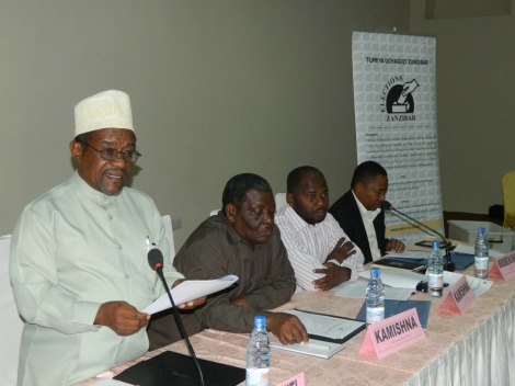 Mwenyekiti wa Tume ya Uchaguzi Zanzibar (ZEC) Jecha Salim Jecha