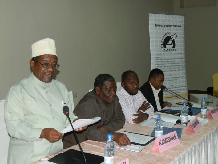 Mwenyekitiwa Tume ya Uchaguzi Zanzibar (ZEC) Jecha Salim Jecha