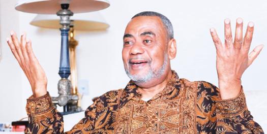 Maalim Seif Sharif Hamad Katibu Mkuu wa CUF na Makamo wa Kwanza wa Rais wa Zanzibar