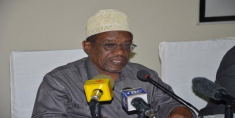 Mwenyekiti wa Tume ya Uchaguzi Zanzibar Jecha Salim Jecha