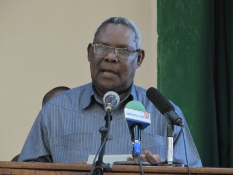 Balozi Seif Ali Iddi Makamo wa Pili wa Rais wa Zanzibar