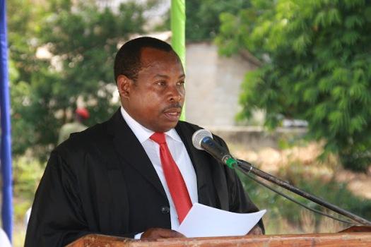 Aliyekuwa Mwanasheria Mkuu wa Serikali ya Mapinduzi ya Zanzibar, Othman Masoud Othman