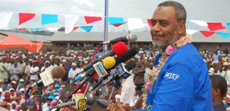Mgombea urais wa Zanzibar kwa tiketi ya CUF chini ya mwamvuli wa Ukawa, Maalim Seif Sharif