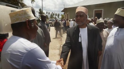 Maalim Seif akimfariji Naibu Katibu Mkuu wa CCM, Vuai Ali Vuai
