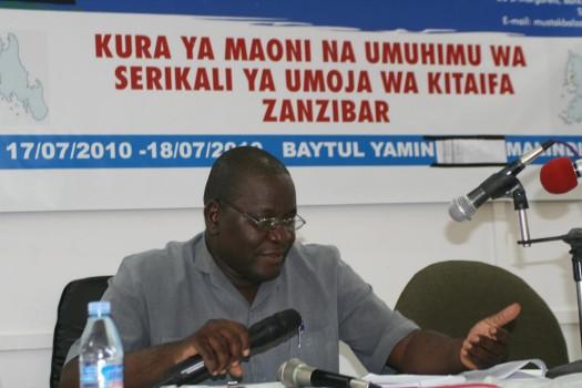 Ibrahim Mzee ni Mkurugenzi wa Mashtaka Zanzibar