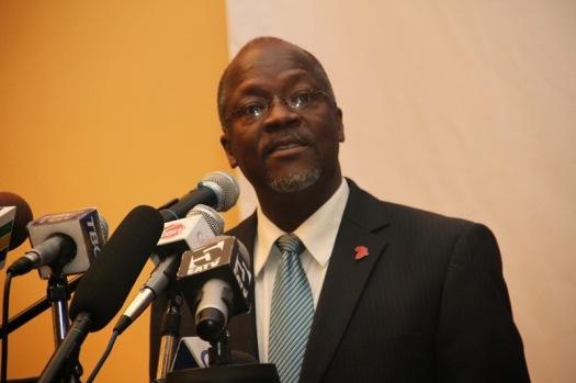 Rais wa Jamhuri ya Muungano wa Tanzania, Dk. John Pombe Magufuli
