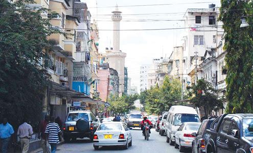 Zanzibar city centre