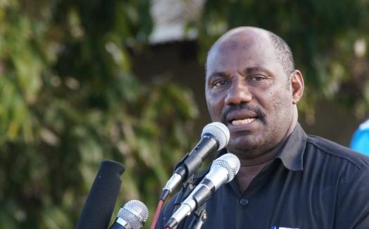 Kaimu Mkurugenzi wa Habari na Maasiliano ya Umma wa CUF Hamad Masoud Hamd, anayeshikiliwa na jeshi la polisi
