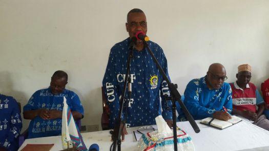 Katibu Mkuu wa CUF, Maalim Seif Sharif Hamad,