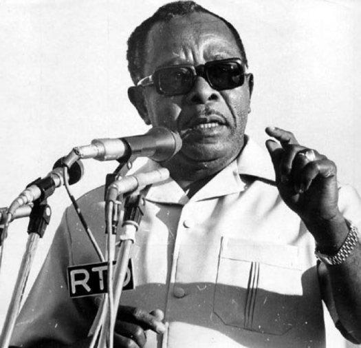 Rais wa zamani wa Zanzibar, marehemu Aboud Jumbe Mwinyi