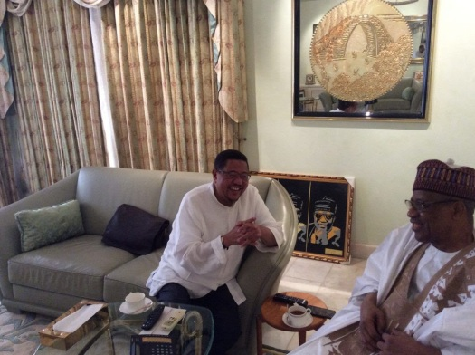 Ahmed Rajab na Rais Mstaafu Jenerali Ibrahim Babangida
